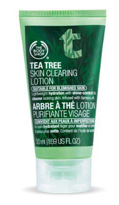 The Body Shop Tea Tree Lotion