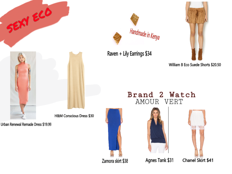 Sexy Eco fashion