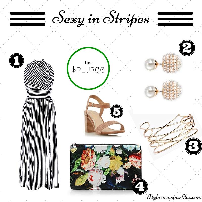 Sexy in Stripes the splurge