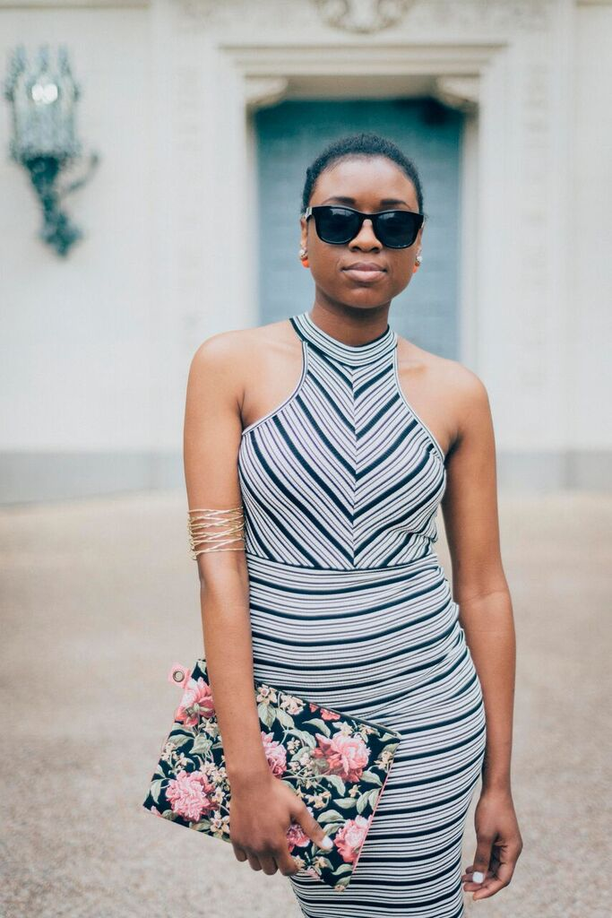 striped dress cool shades