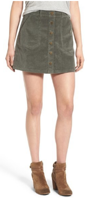jolt corduroy a-line skirt orig. 52 now 33.90